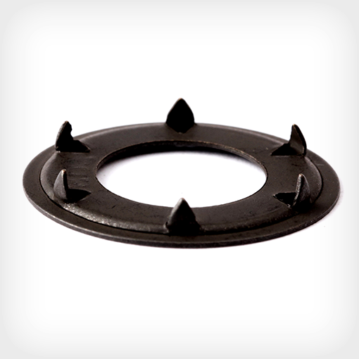 black oxide spur tooth washer