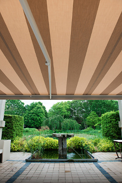 retractable awning stripes garden sunbrella resize